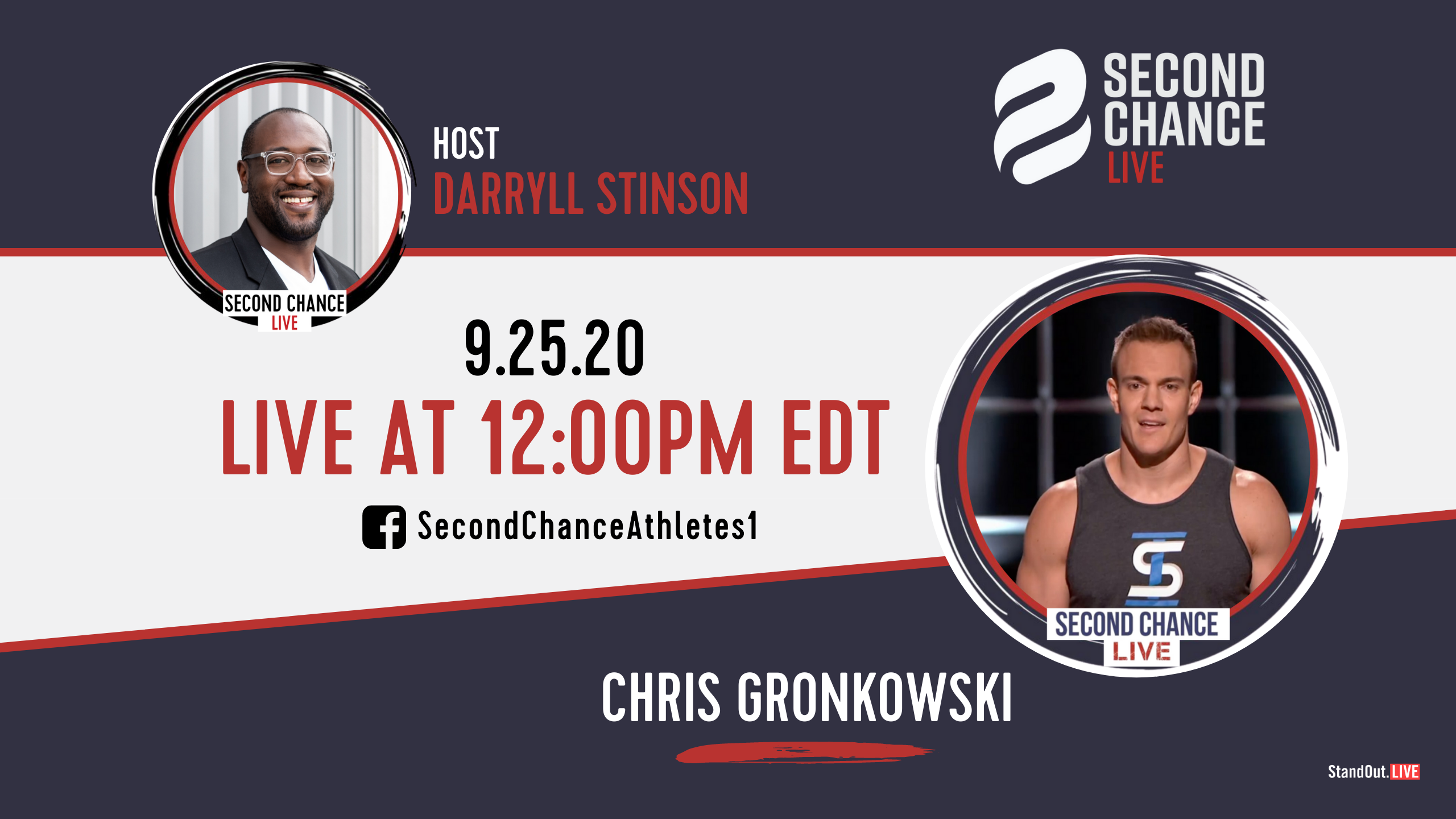 Second Chance LIVE -with Chris Gronkowski