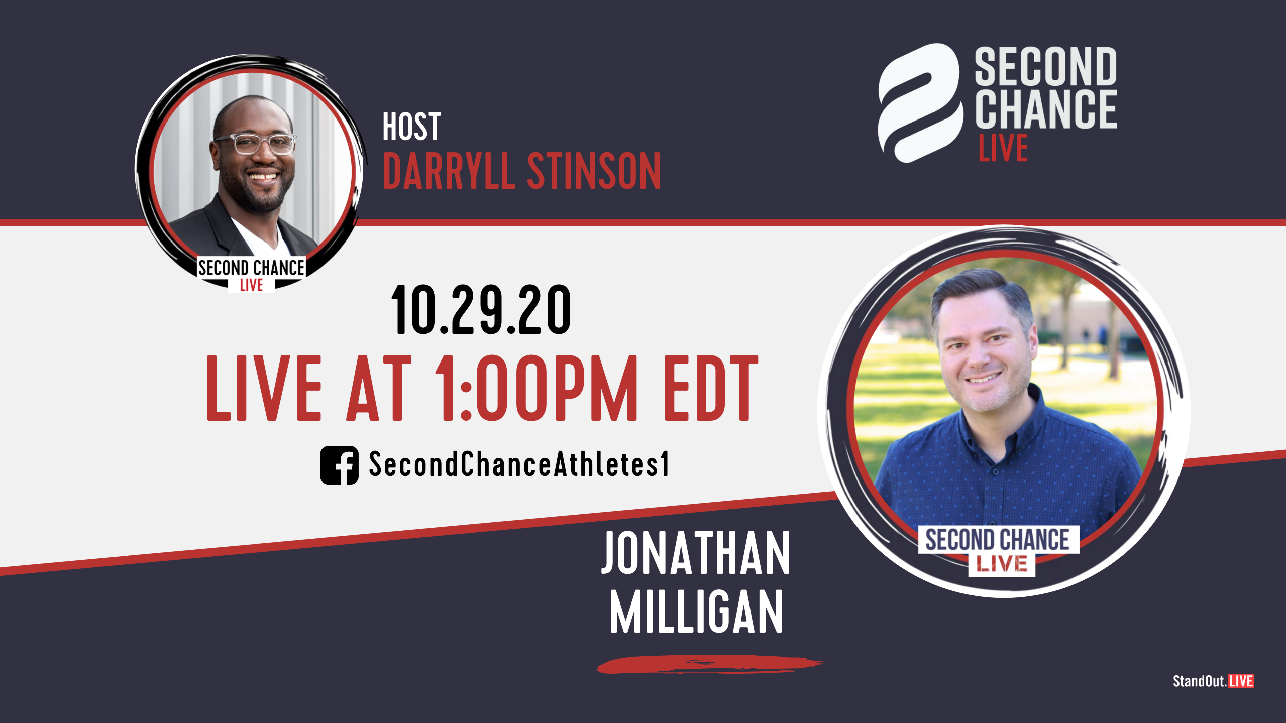 Second Chance LIVE -with Jonathan Milligan