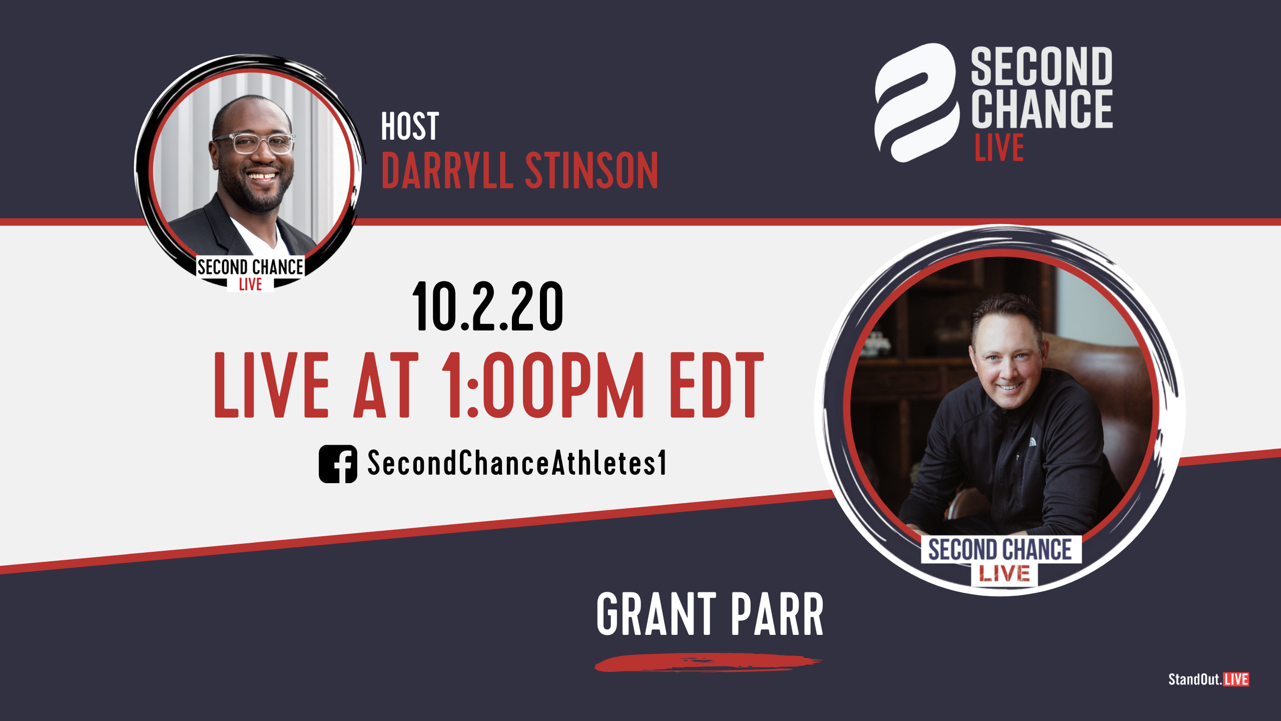 Second Chance LIVE -with Grant Parr