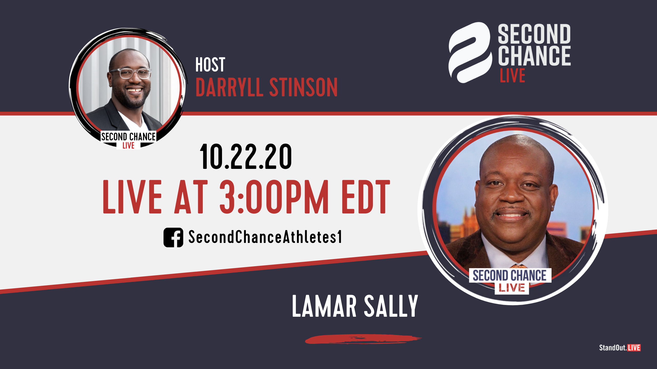 Second Chance LIVE -with Lamar Sally