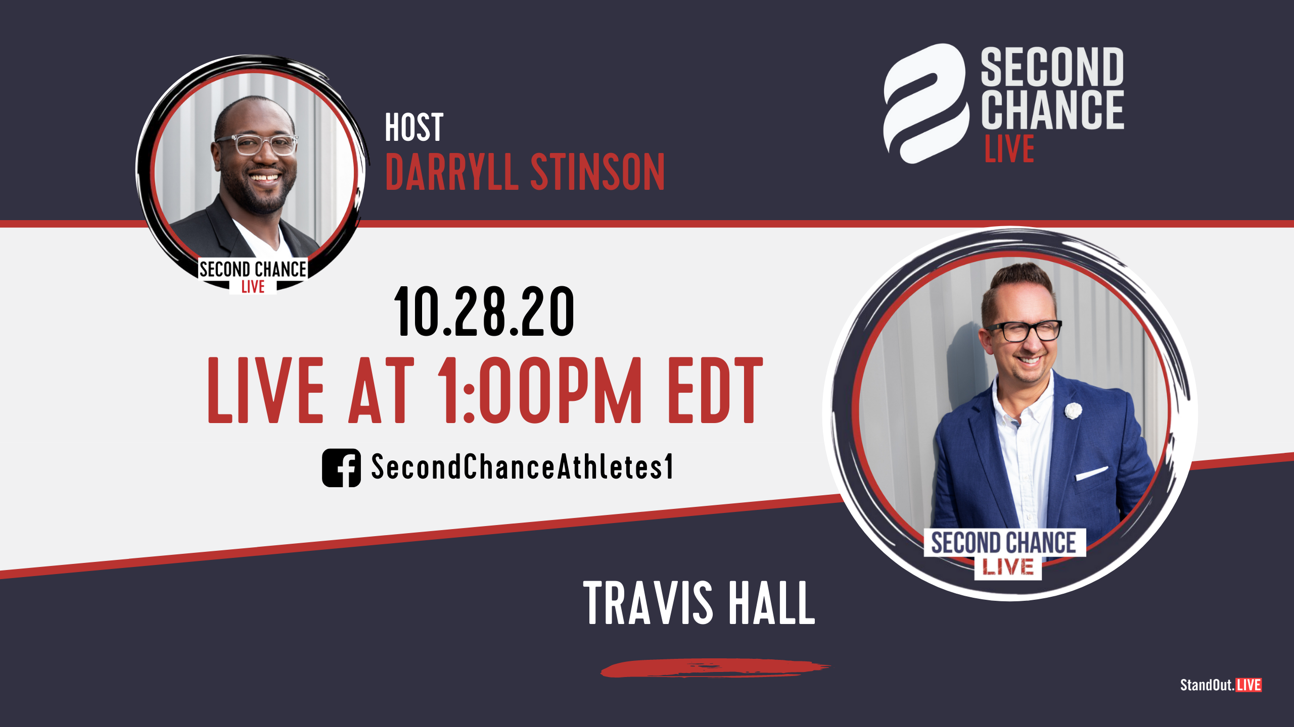 Second Chance LIVE -with Travis Hall