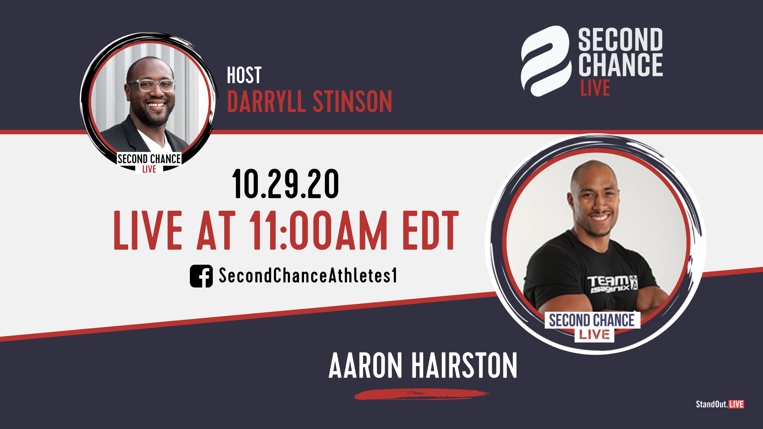 Second Chance LIVE -with Aaron Hairston