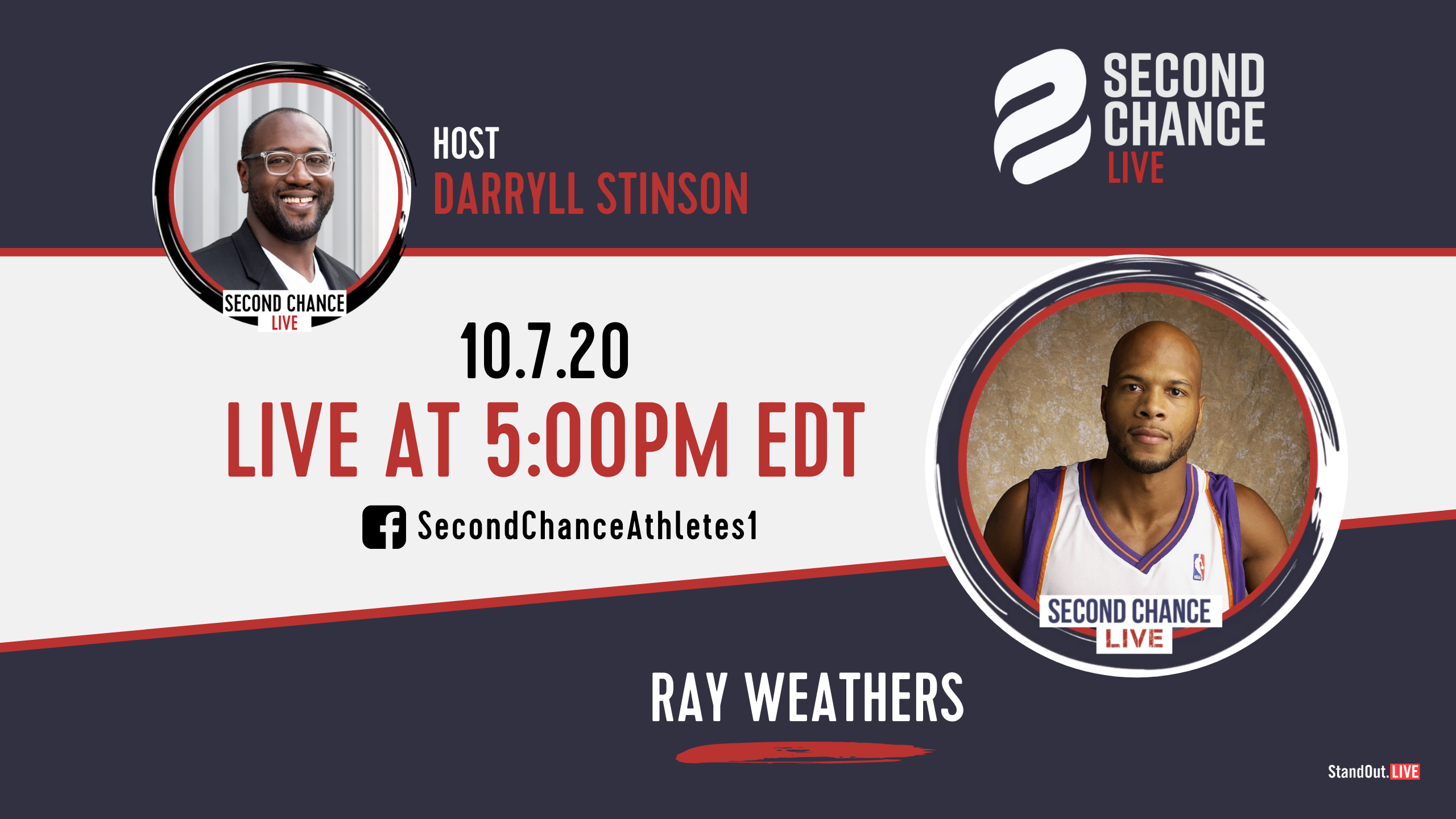 Second Chance LIVE -with Ray Weathers