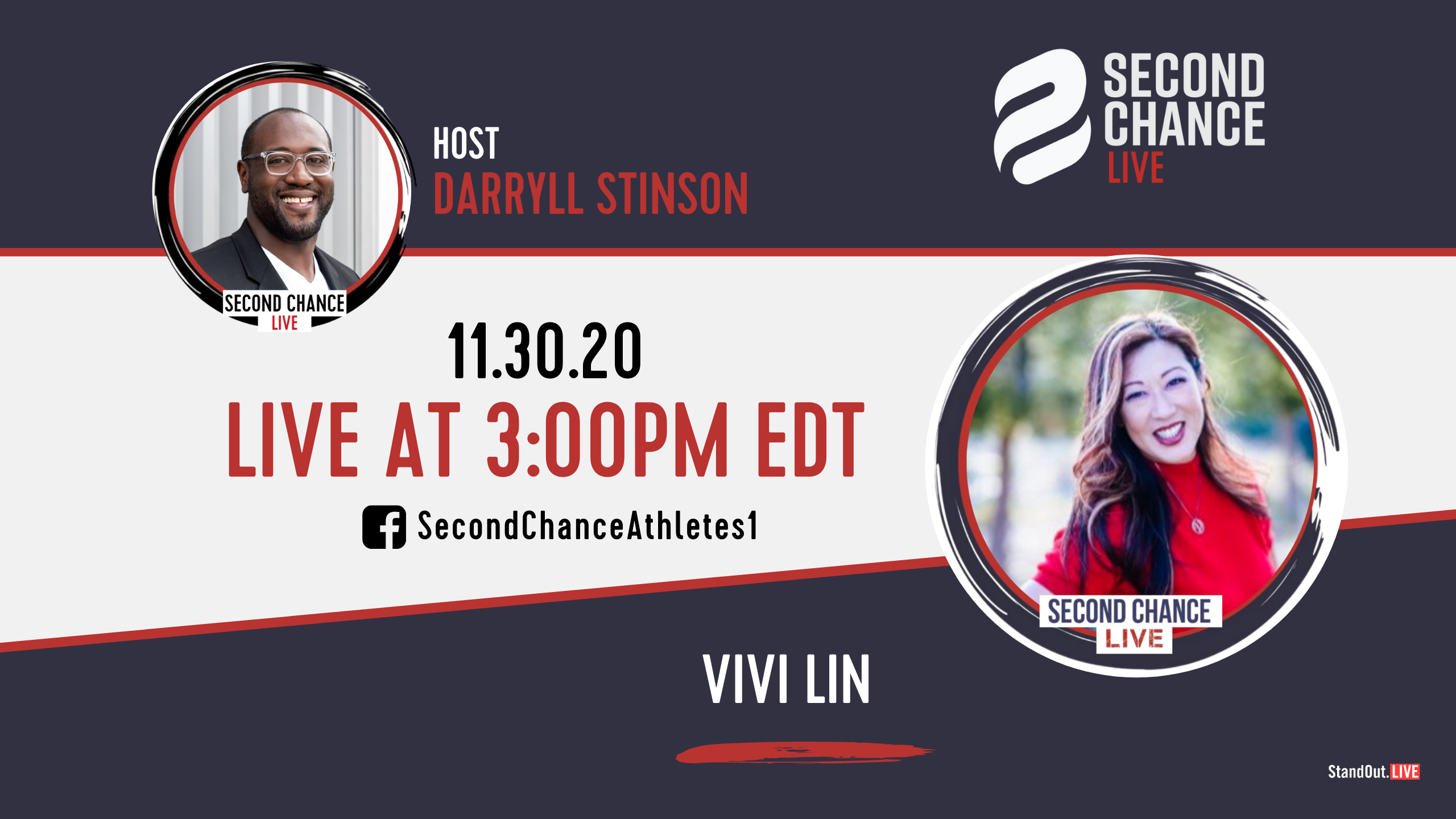Second Chance LIVE -with Vivi Lin
