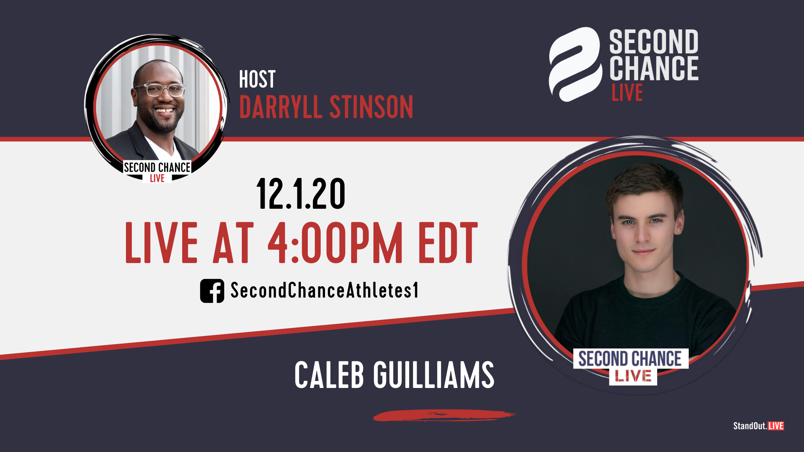 Second Chance LIVE -with Caleb Guilliams