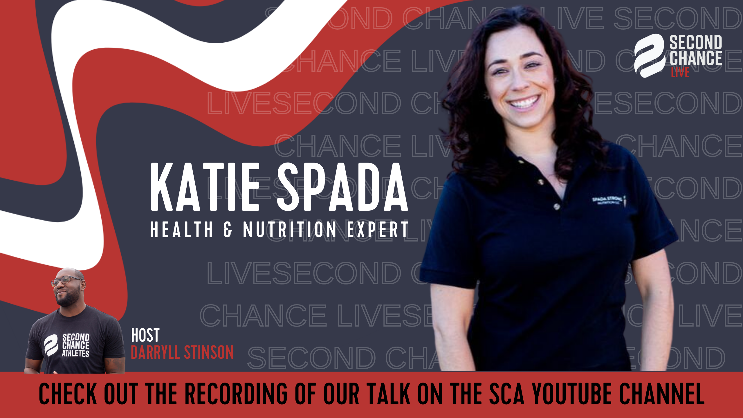 Second Chance LIVE -with Katie Spada