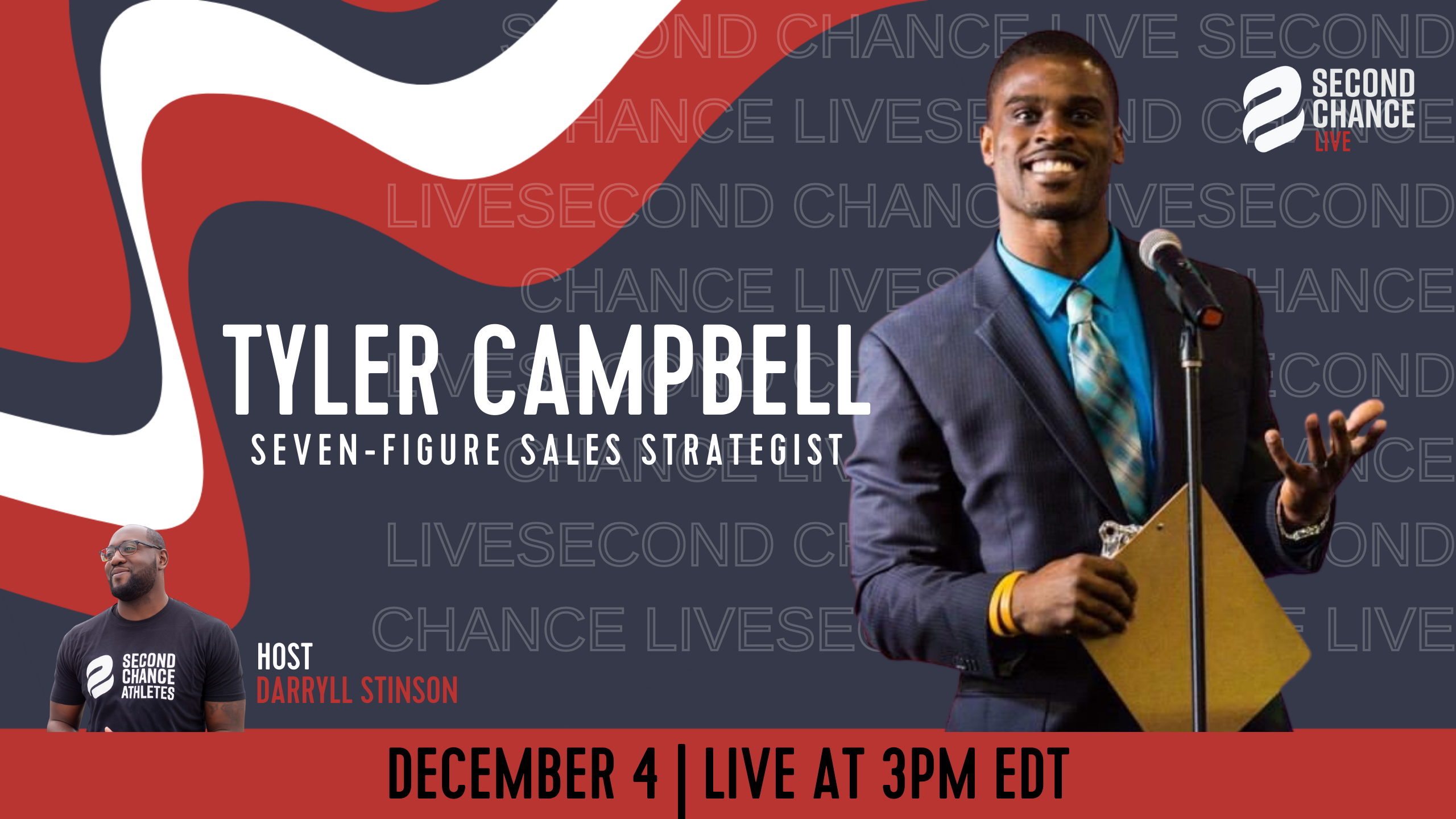 Second Chance LIVE -with Tyler Campbell